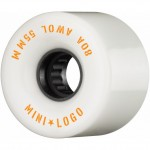 Mini logo AWOL 63mm 80A white Ruedas de skateboard