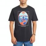 Volcom Zuverza black 2021 camiseta