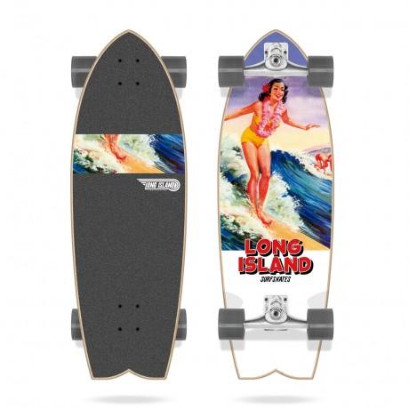 Long island Aloha 30'' Surfskate completo