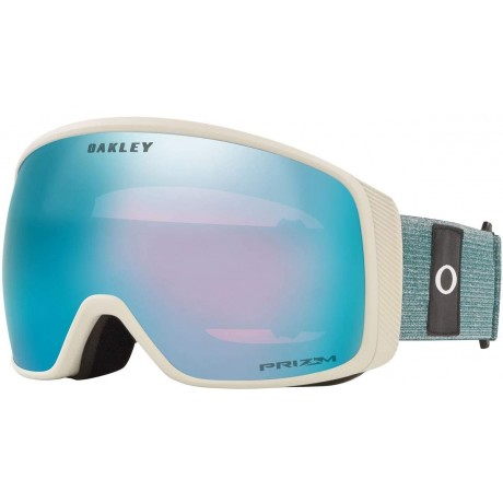 Oakley Flight Tracker XL heathered grey balsam prizm sapphire 2021 gafas de snowboard