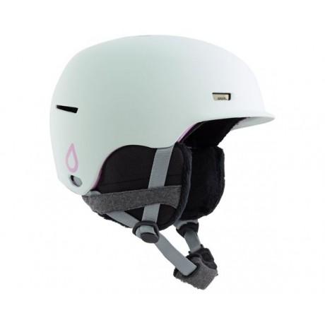 Anon Raven aqua 2021 casco de snowboard de mujer