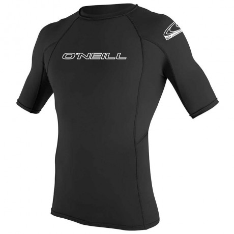 O´neill Basic skins rash guard black 2020 licra