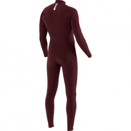 Vissla 7 seas full chest zip bordeaux 2020 neopreno