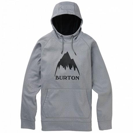 Burton Crown bonded po grey heather 2020 sudadera técnica de snowboard