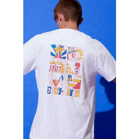Tiwel Clean bright white 2021 camiseta