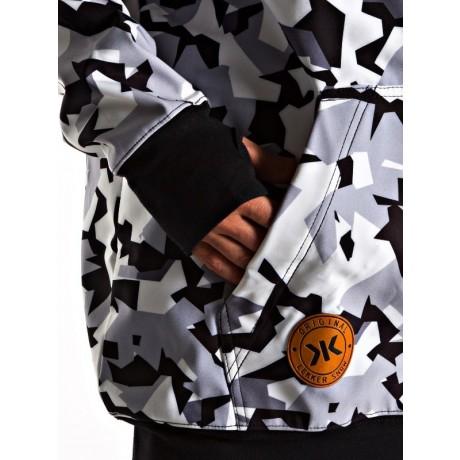 Dc Command lemon chrome ykb 2021 chaqueta de snowboard