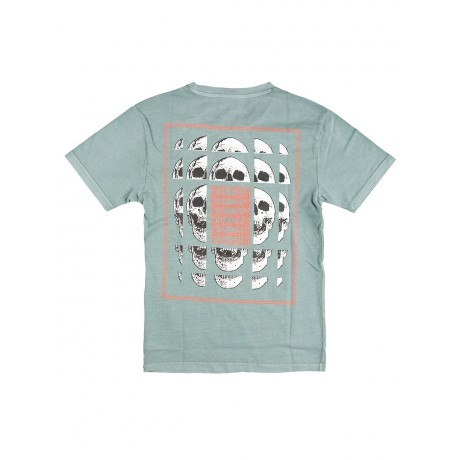 Volcom Concussion fir green 2021 camiseta de niño