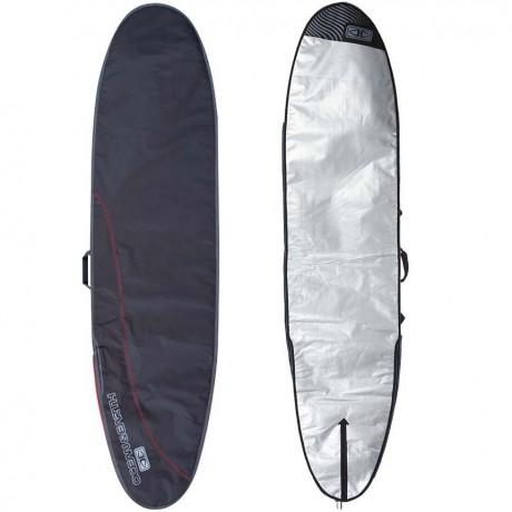 "Ocean & Earth Compact Day longboard black red 9.2"" funda surf"