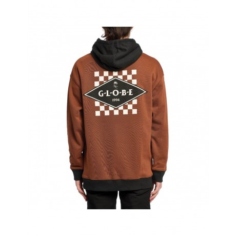 Globe Check out rust 2021 sudadera