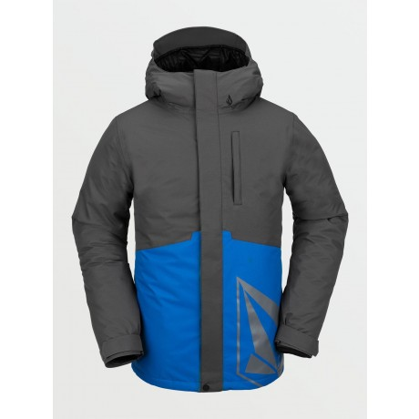 Volcom 17 Forty Ins cyan blue 2021 chaqueta de snowboard