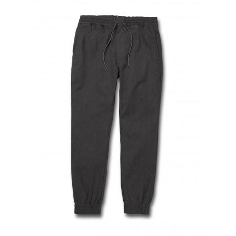 Volcom Frickin slim jogger charcoal heather 2021 pantalones