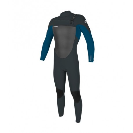 O´neill Epic 4/3 chest zip full gunmetal/ ultra blue 2021 neopreno