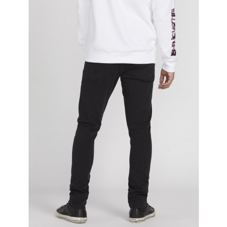 Volcom 2x4 ink black 2021 pantalones