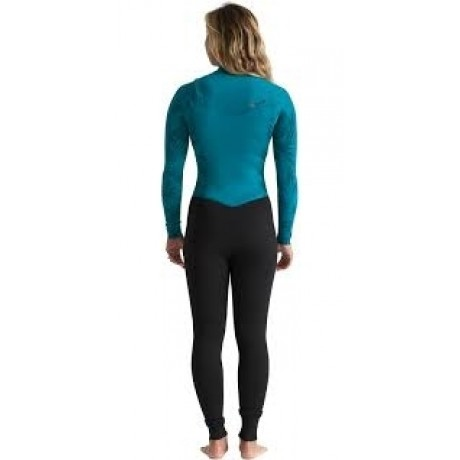 Billabong Furnace Synergy Chest Zip GBS 3/2mm mermaid black traje de neopreno de mujer