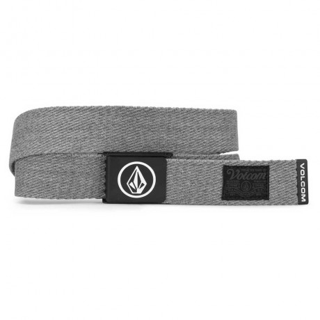Volcom Circle web grey cinturón