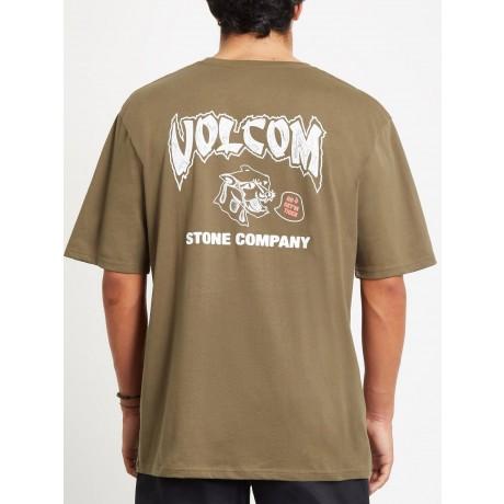 Volcom Kittykat military 2021 camiseta