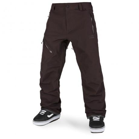 Volcom L Gore-tex black red 2021 pantalón de snowboard