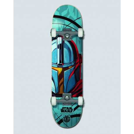 "Element Star Wars Mando 7,75"" skateboard completo"
