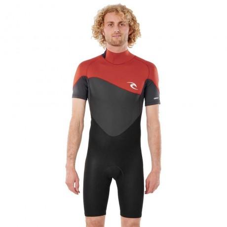 Rip Curl Omega 1.5 mm s/sl spring black 2021 traje de neopreno