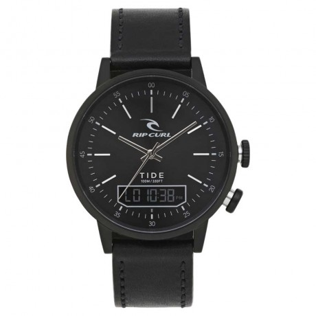 Rip Curl Drake Tide digital leather midnight reloj de surf