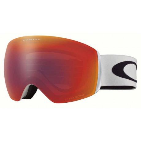 Oakley Flight Deck matte white Prizm torch iridium 2021 gafas de snowboard