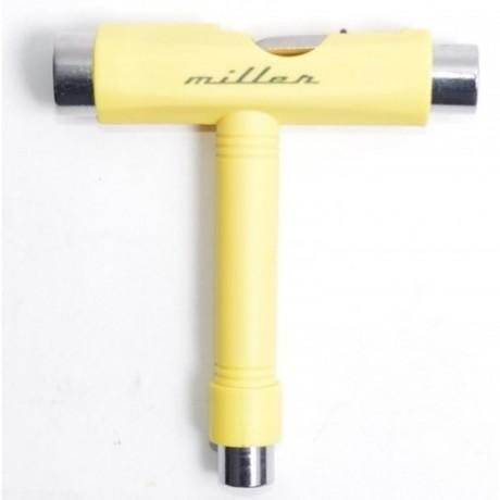 Miller yellow T tool herramienta skateboard