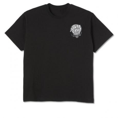 Santa Cruz O´Brien Skull black 2021 camiseta