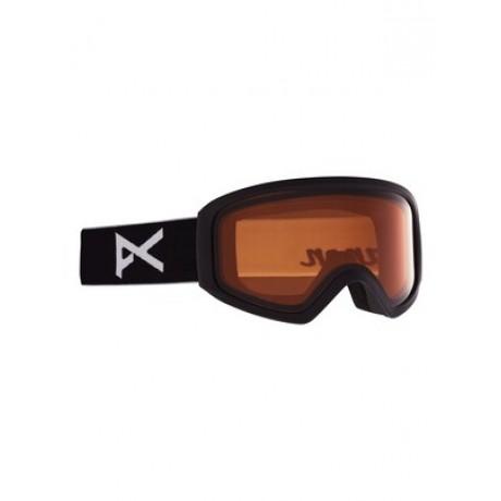 Anon Insight non mirror black amber 2021 gafas de snowboard de mujer