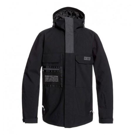 Dc Defiant black kvj 2020 chaqueta de snowboard