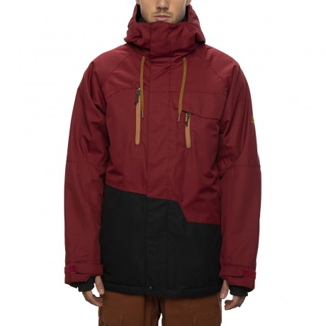 686 Geo insulated oxblood colorblock 2021 chaqueta de snowboard