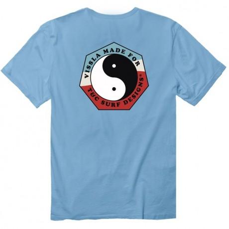 Arica Pacífico azul 2018 camiseta