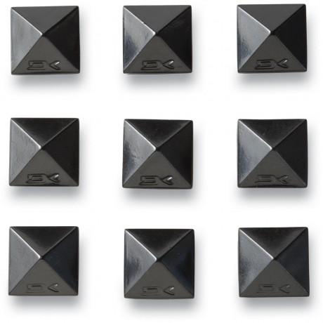 Dakine Pyramid studs chrome black pad