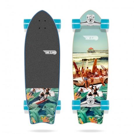 Long island Pier 31'' Surfskate completo