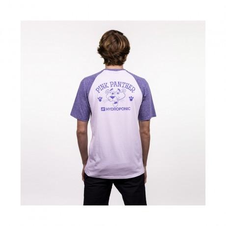 Hydroponic Pink Logo white blue 2021 camiseta