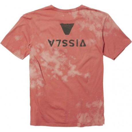 Vissla Capsized bleach wash plumeria 2021 camiseta