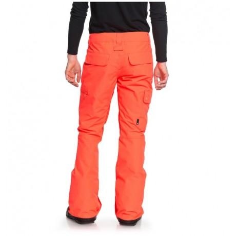 DC Recruit fiery coral 2019 pantalón de snowboard de mujer
