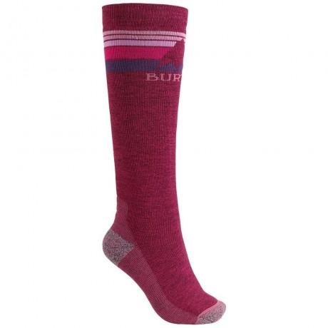 Burton Emblem sangria 2021 calcetines de snowboard de mujer