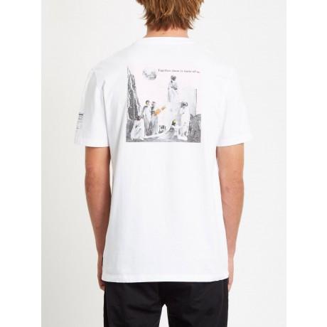 Volcom Schnips Schnips white 2021 camiseta
