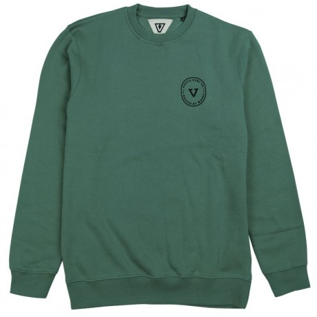Vissla Seaside green 2021 sudadera