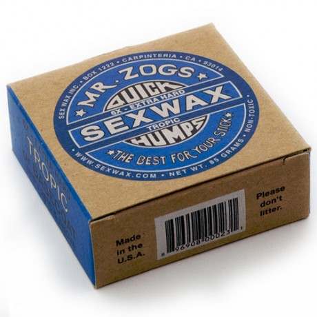 Sex Wax Quick Humps Cera Surf Azul