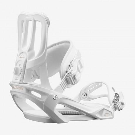Salomon Spell White 2016 Fijaciones de Snowboard