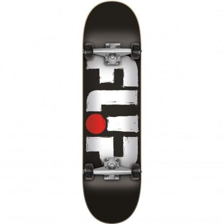 Jart Odyssey storked black 7.88 x 31.63'' Flip comp Skateboard completo