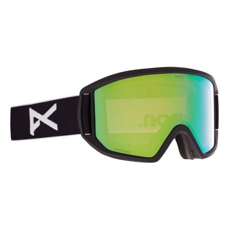 Anon Relapse black perceive variable green 2021 gafas de snowboard