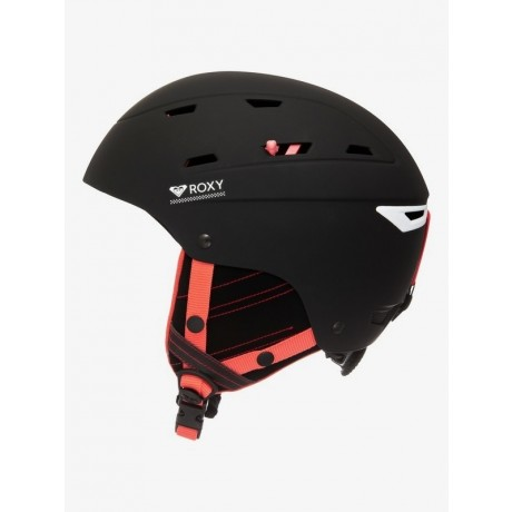 Roxy Winterplace kvj black 2021 casco de snowboard de mujer