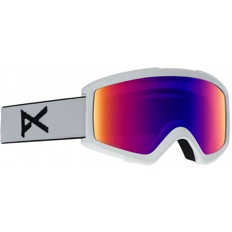 Anon Helix White / sonar ir blue 2020 gafas de snowboard