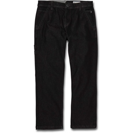 Volcom X Girl Skateboards chino black 2021 pantalón