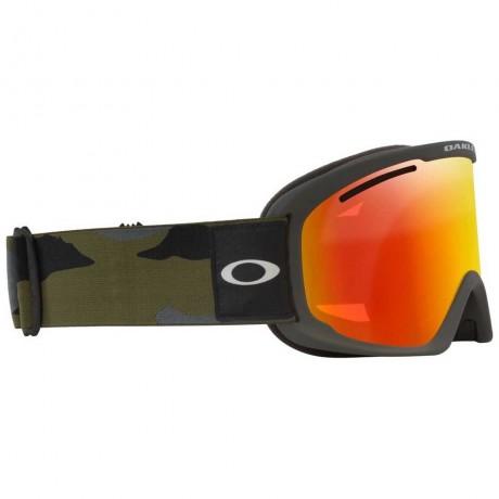 Oakley O frame Pro XL dark brush camo w fire iridium 2021 gafas de snowboard