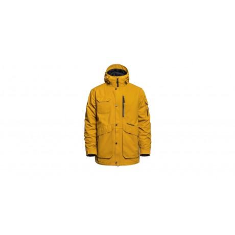 Horsefeathers Barnett golden yellow 2021 chaqueta de snowboard