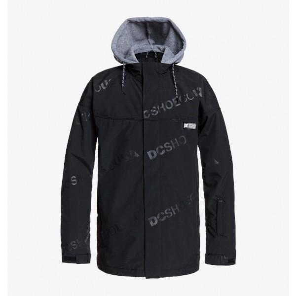 Dc Agent black kvj 2021 chaqueta de snowboard