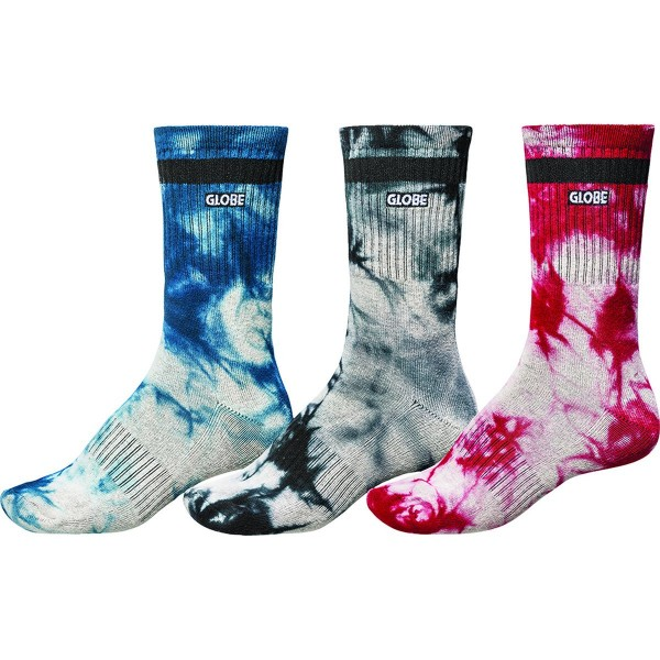 Globe All tied up 3 pack calcetines